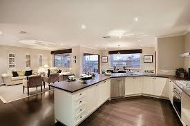 Best Open Kitchen Living Room Design