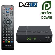 Ресивер <b>DVB</b>-<b>T2 Perfeo COMBI</b>. Купить недорого на домкомп.рф