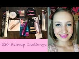 you 20 dollar makeup challenge 20 dollar makeup challenge