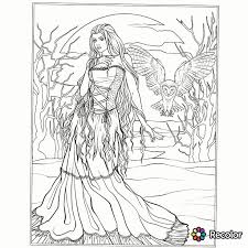 Gothic Adult Coloring Pages At Getcoloringscom Free Printable