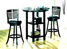 3 piece round pub table set full size of counter height round pub table sets august