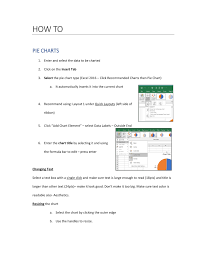 Excel 2016 Pie Chart Ms Excel 2016 Charts Pages 1 7 Text Version Anyflip