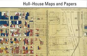 Hull House Maps and Papers Nationality Map — Jane Addams Hull