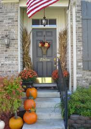 Decorations:Simple Decoration Red Front Door Ideas With Gold Door Handle  Ideas Fetching Grey Wood