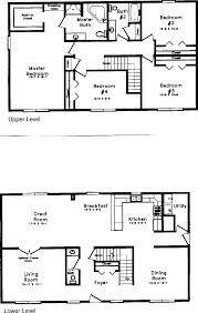 cape cod house plan floor plans