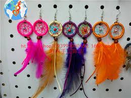 Purchase Dream Catchers 100 Diy Dream Catcher Earring Handmade Birthday Gift Colorful 23