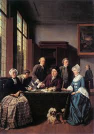 The Marriage Contract Jan Jozef Horemans Oil Painting