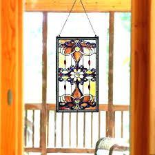 for front doors stained glass window above front window front do window