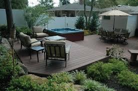 hot tub patio ideas aqua living