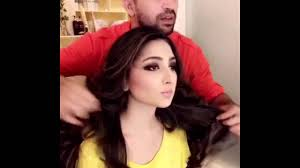 dailymotion wajid khan stylist party light makeup