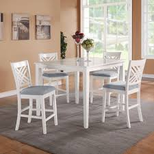 Buy Brooklyn 5 Piece Dining Table Set Finish White