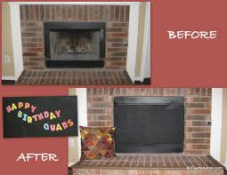how to cover your brick fireplace modern farmhouse style fireplace fireplace cover photo