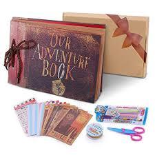 Photo Albulm Pootack Our Adventure Book Pixar Up Handmade Diy Family Scrapbook Wedding Photo Album Retro Album Anniversary Scrapbook Travel Album Childs