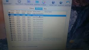Intel Gen 5th Hp On 15 Envy 5500 Hd I7 k204tx nvidia Yosemite XxFYx