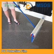 carpet protector film. temporary self adhesive carpet protection film shield damp proof protector