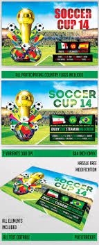 25+ Best Soccer World Cup Brazil Psd Flyer Templates