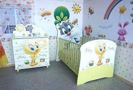 baby looney tunes nursery items crib bedding