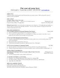 Cover Letter Apa Resume Format Apa Format Resume Example Apa