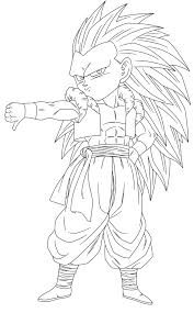 Small Picture Goku Ssj4 And Vegeta Ssj4 Coloring Pages Free Here