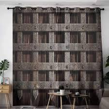 Interior Design Medieval Amazon Com Onefzc Simple Curtains Medieval Decor Medieval