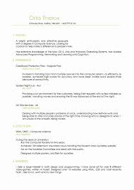 Sample Resume for Experienced Mainframe Developer Lovely Endearing Ios Developer  Resume Samples Sample Resume for