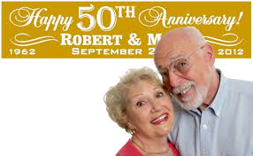 happy anniversary banners 50th anniversary party banners golden wedding anniversary