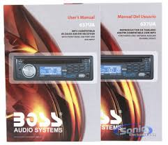boss ua in dash cd mp usb car stereo receiver product boss 637ua