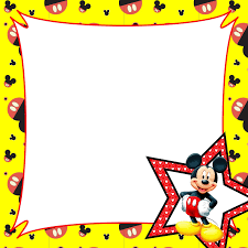 Mickey Mouse Border Clip Art Free (Page 1) - Line.17QQ.com