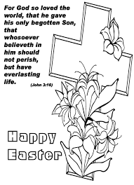 Easter Coloring Pages Free Printable Religious Easter Borders Free