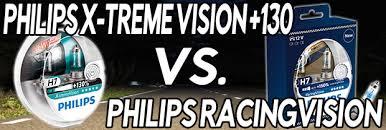 Philips Racingvision Vs Philips X Treme Vision 130 Car