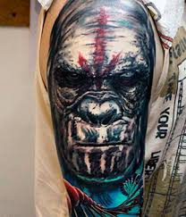 Enot Black House Tattoo