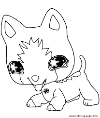 Small Picture littlest pet shop dog Coloring pages Printable
