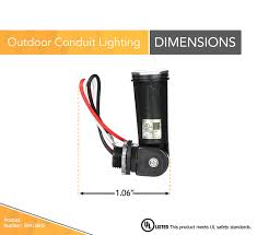 K4251 Light Sensor Woods 59413 59413wd Outdoor Conduit Lighting Control With