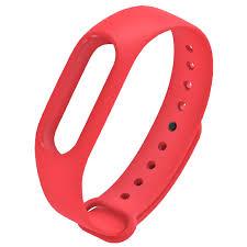 Цветной <b>силиконовый ремешок</b> для фитнес браслета <b>Mi</b> Band 2