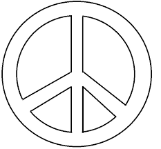 Small Picture Peace sign coloring pages easy ColoringStar