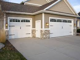 garage door accents faux windows and quality hardware
