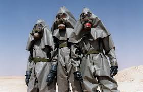 operation desert storm years since the first gulf war the regiment in the saudi desert near hafr al batin wear full chemical warfare equipment during a training session during the gulf war on 26 1990