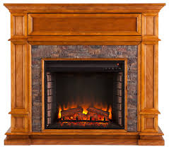 sitka simulated stone a center electric fireplace traditional indoor fireplaces