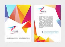Letterhead Templates Design Brochures And Letterhead Templates Design Stock Vector Marylia
