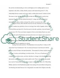 frankenstein by mary shelley research paper example topics and frankenstein by mary shelley essay example
