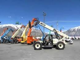 Ingersol Rand Forklift Sold Telescopic Forklift 2005 Ingersoll Rand Vr843c 4x4x4 8 000 Lb