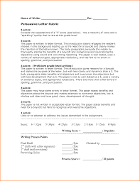 examples of persuasive business letters   Expense Report Template Persuasive Letter Rubric