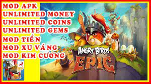 ANGRY BIRDS EPIC RPG mod apk V3.0.27463.4821 | Mod Tiền, Kim Cương  (Unlimited Money/