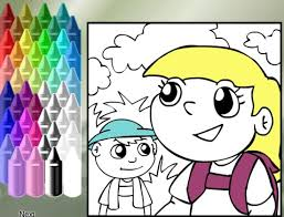 Small Picture Online Food Coloring Pages for Kids Fun Virtual Healthy Food