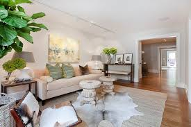 animal hide rugs dining room contemporary with white chairs shaped area