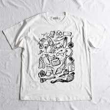 オシャレでクールなイラストtシャツthanks Papa