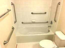 bathroom grab bars living good looking for elderly handicap bathtub rails handicapped installation dc safe bathrooms