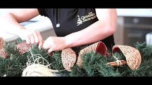 How to Make Your Own Christmas <b>Garland Decoration</b> - YouTube