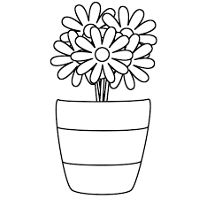 Coloring Pages Vase