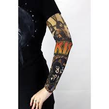 тату рукав 08 Kiss арт ртд008 купить по выгодной цене в москве рок аксессуары в